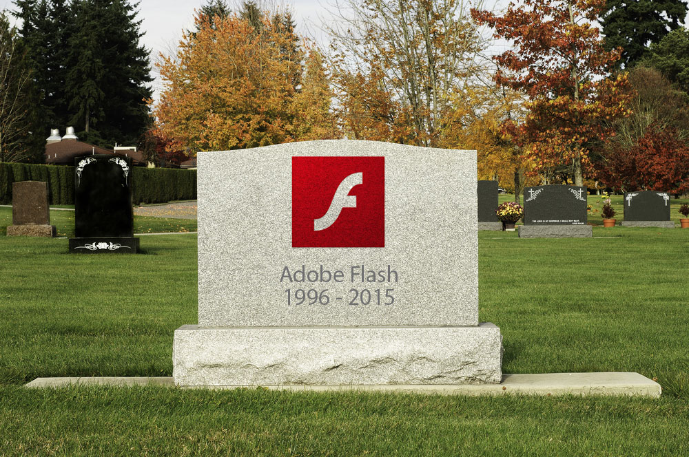 Adobe Flash is finally dead