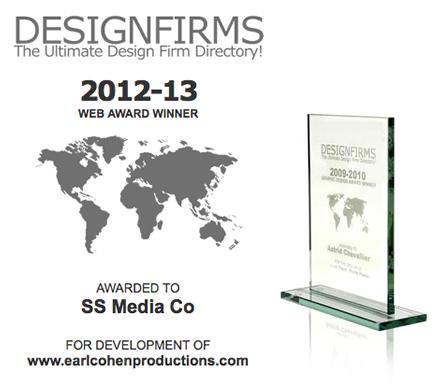 We Won Two 2012-13 Web Design Awards!