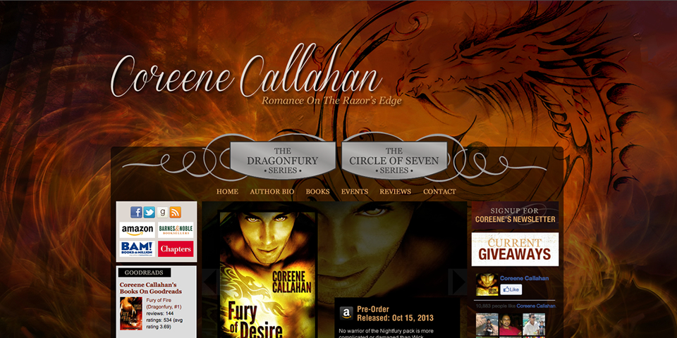 Fresh Site! – Coreene Callahan